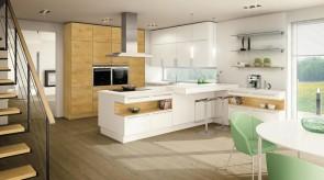 Küche mit viel Stauraum
